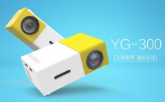 new YG300 Portable LED Projector