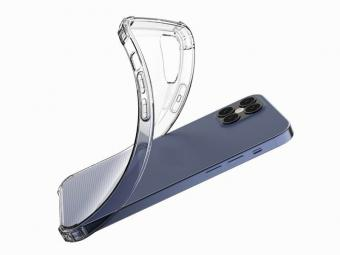 iPhone 12 Pro Max Shockproof Transparent TPU Protective Case